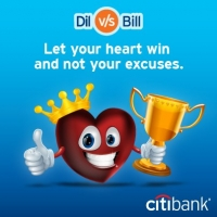 Citibank India Creates Tweet Clouds With #DilVsBill!