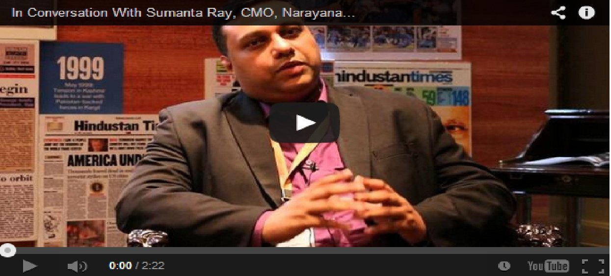 In Conversation With Sumanta Ray, CMO, Narayana Health