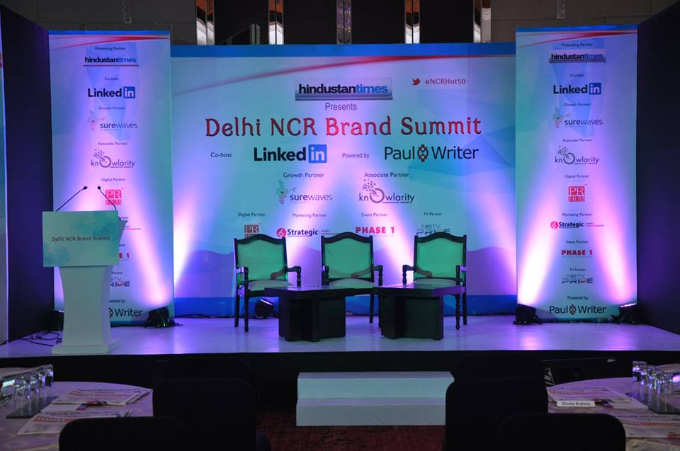 Paul Writer Recognizes the Best in Delhi NCR Brands at the Delhi NCR Brand Summit 2014