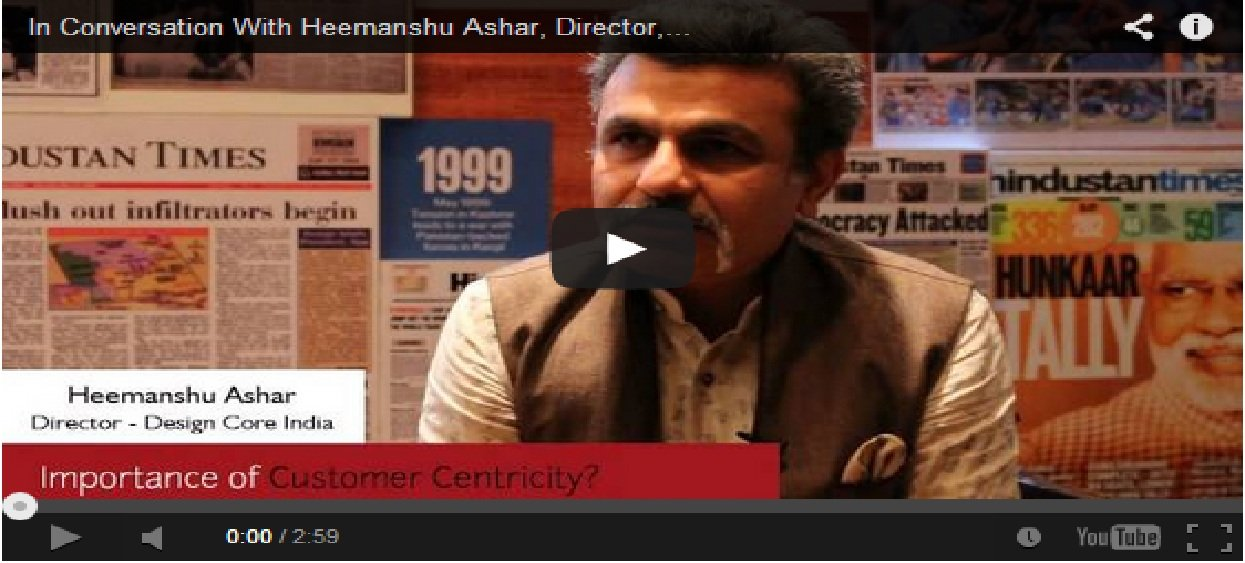 In Conversation With Heemanshu Ashar, Director, Design Core India
