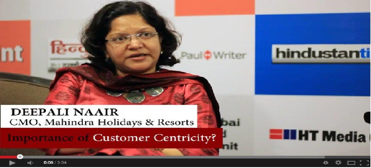In Conversation With Deepali Naair, CMO, Mahindra Holidays & Resorts