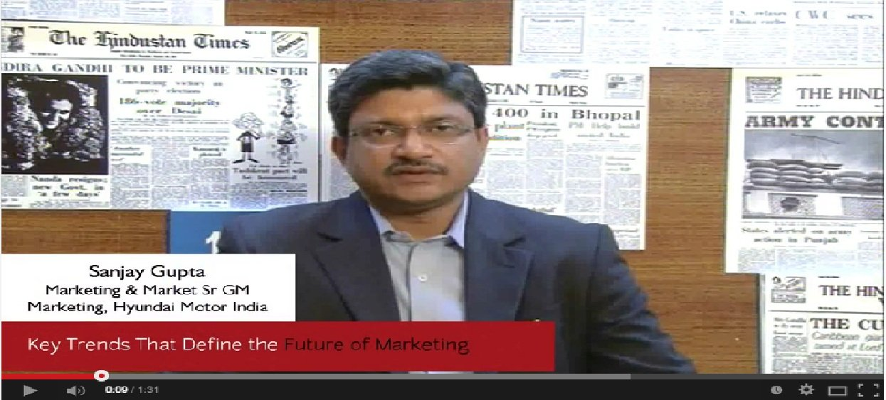 In Conversation with Sanjay Gupta, Sr GM Marketing, Hyundai Motor India