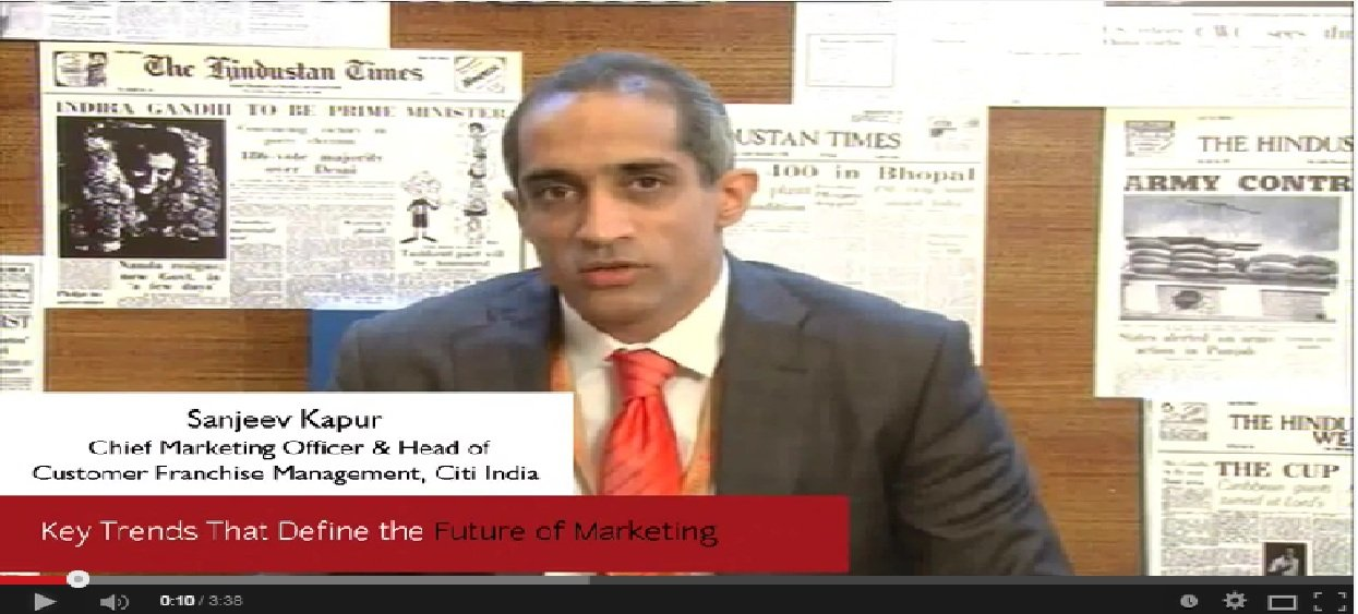 In Conversation with Sanjeev Kapur, Chief Marketing Officer & Head of Customer Franchise Management, Citi India