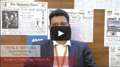 In Conversation with Vivek B. Srivatsa, Head of Marketing, Renault India