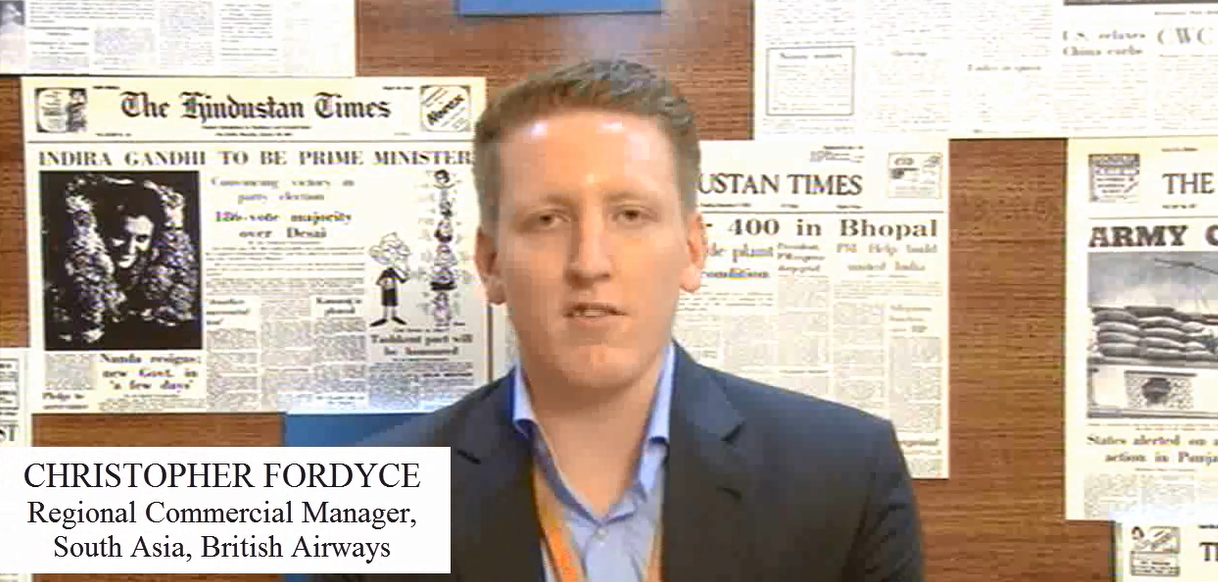 In Conversation with Christopher Fordyce- Regional Commercial Manager, South Asia, British Airways