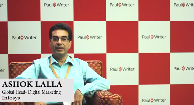 In Conversation with Ashok Lalla, Global Head- Digital Marketing, Infosys