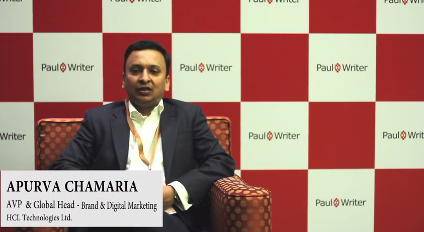 In Conversation with Apurva Chamaria, AVP & Global Business Head- Brand & Digital Marketing, HCL Technologies Ltd.