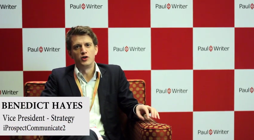 In Conversation with Benedict Hayes, Vice President- Strategy, iProspectCommunicate2