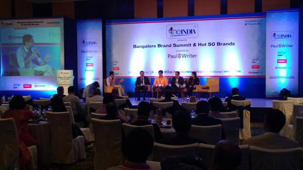 Bangalore's Hot 50 Brands unveiled at the Bangalore Brand Summit, presented by OneIndia