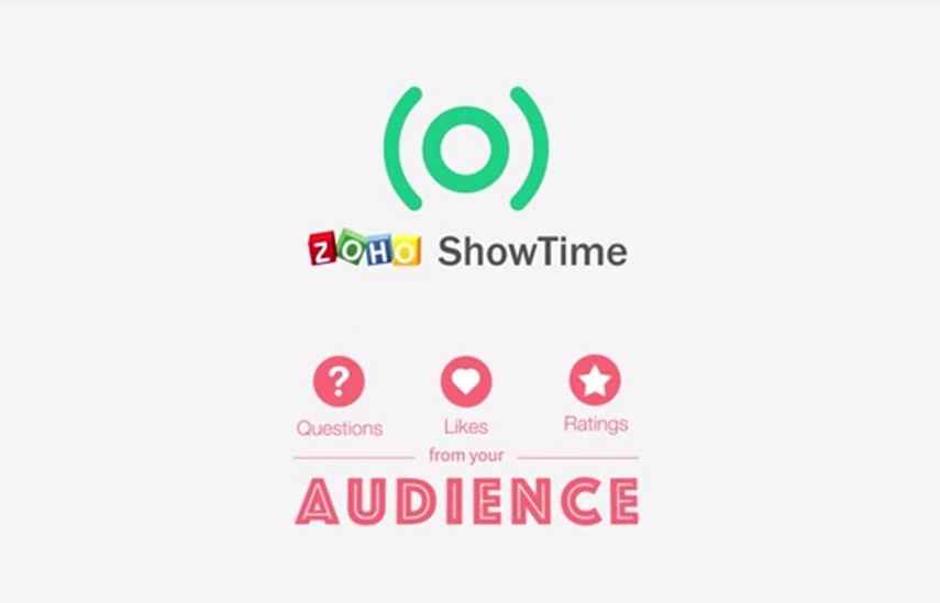 Zoho Launches ShowTime