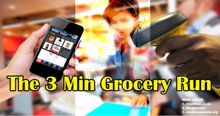 The 3 Minutes Grocery Run – Retail Automation