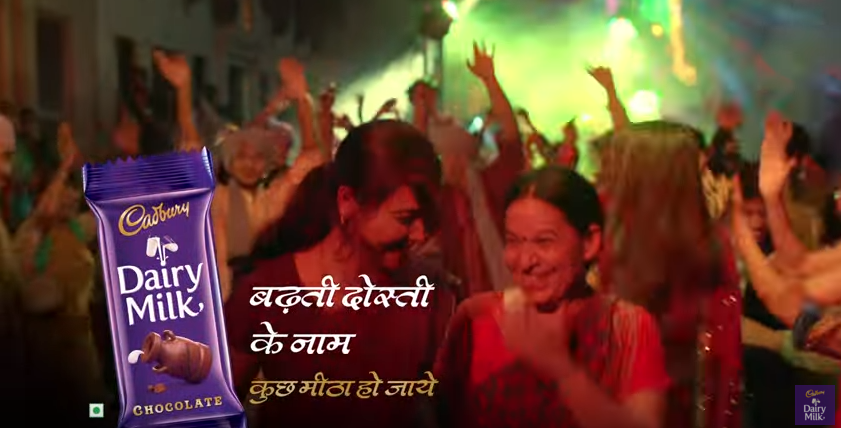 adreview saas bahu dosti for cadbury dairy milk