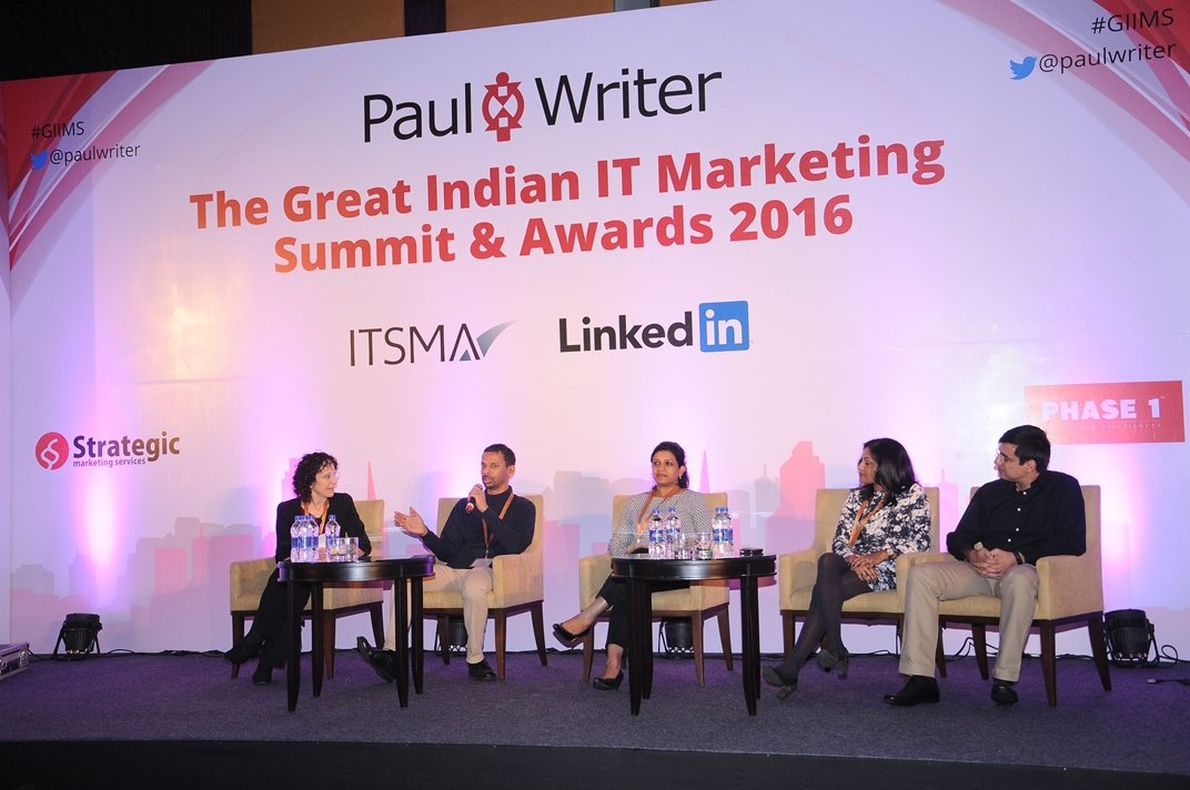 Paul Writer Recognizes Excellence in IT Marketing at 4th Great Indian IT Marketing Summit & Awards 2016