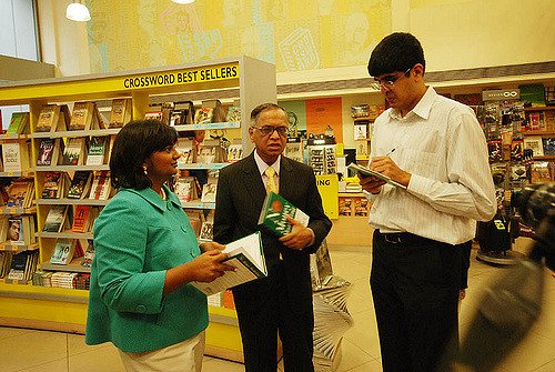 At the launch of Jessie Paul's book. Photo Credit: PeeVee https://www.flickr.com/photos/peeveeads/3931421482/