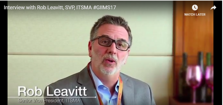 Interview with Rob Leavitt, SVP, ITSMA #GIIMS17
