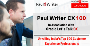 Paul Writer CX100 List In Association with Oracle Let's Talk CX