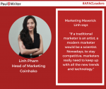 Linh Pham, Head of Marketing, Coinhako