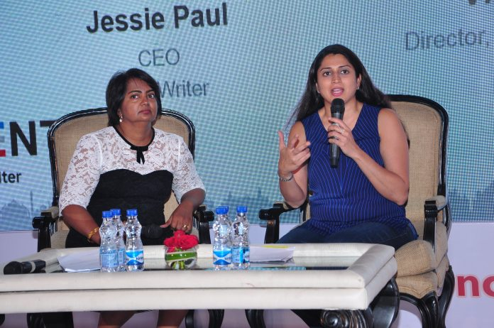 fireside chat between Virginia Sharma, Director- Marketing Solutions, LinkedIn India and Jessie Paul, CEO,