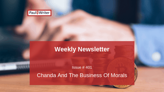 Chanda And The Business Of Morals