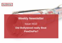 Did Bollywood really Beat PewDiePie?