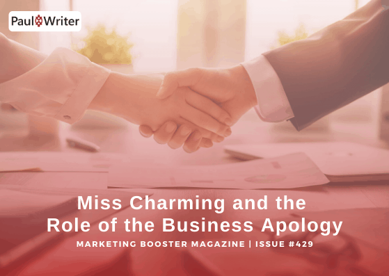 Miss Charming and the Role of the Business Apology