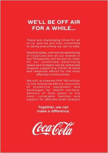 Cocacola corona effect