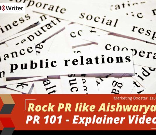 Rock PR like Aishwarya + PR 101 virtual class