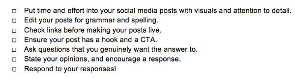 social-media-content-engagement-checklist