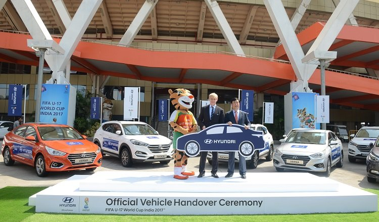 Hyundai Motor Partners With Fifa U17 World Cup Tournament