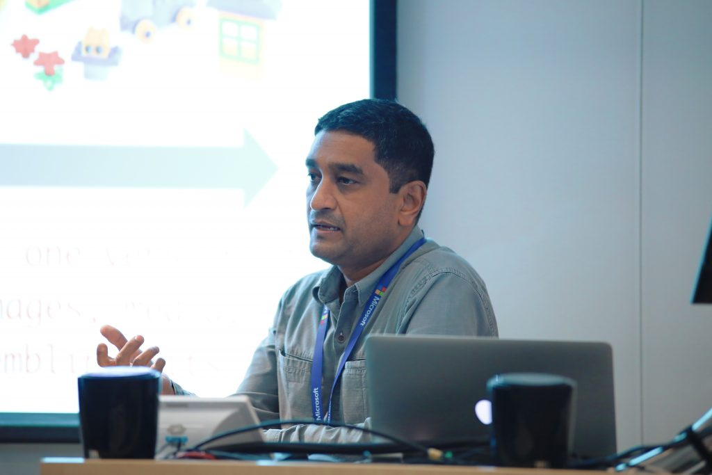 Microsoft Workshop: Anil Jwalanna, Founder &CEO, WittyParrot
