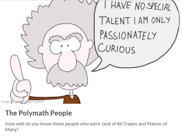 How Well You Know Your Polymath?