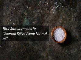"Tata Salt Launches ""Sawal Kijiye Apne Namak Se"