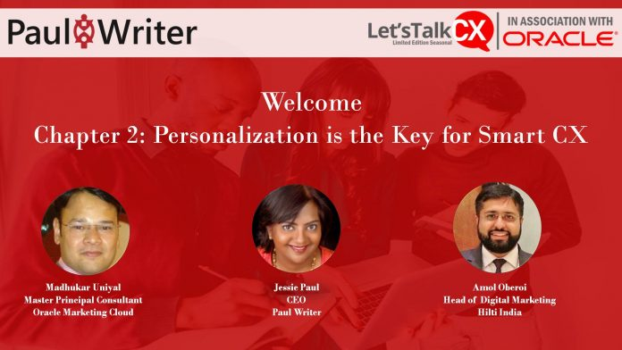 Webinar Report: Personalization is the key for Smart CX