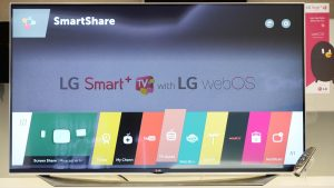 Tech- WebOS in LG Tv