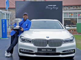 BMW Stands Out as the 'Luxury Mobility Partner' at the Panasonic India Open 2017