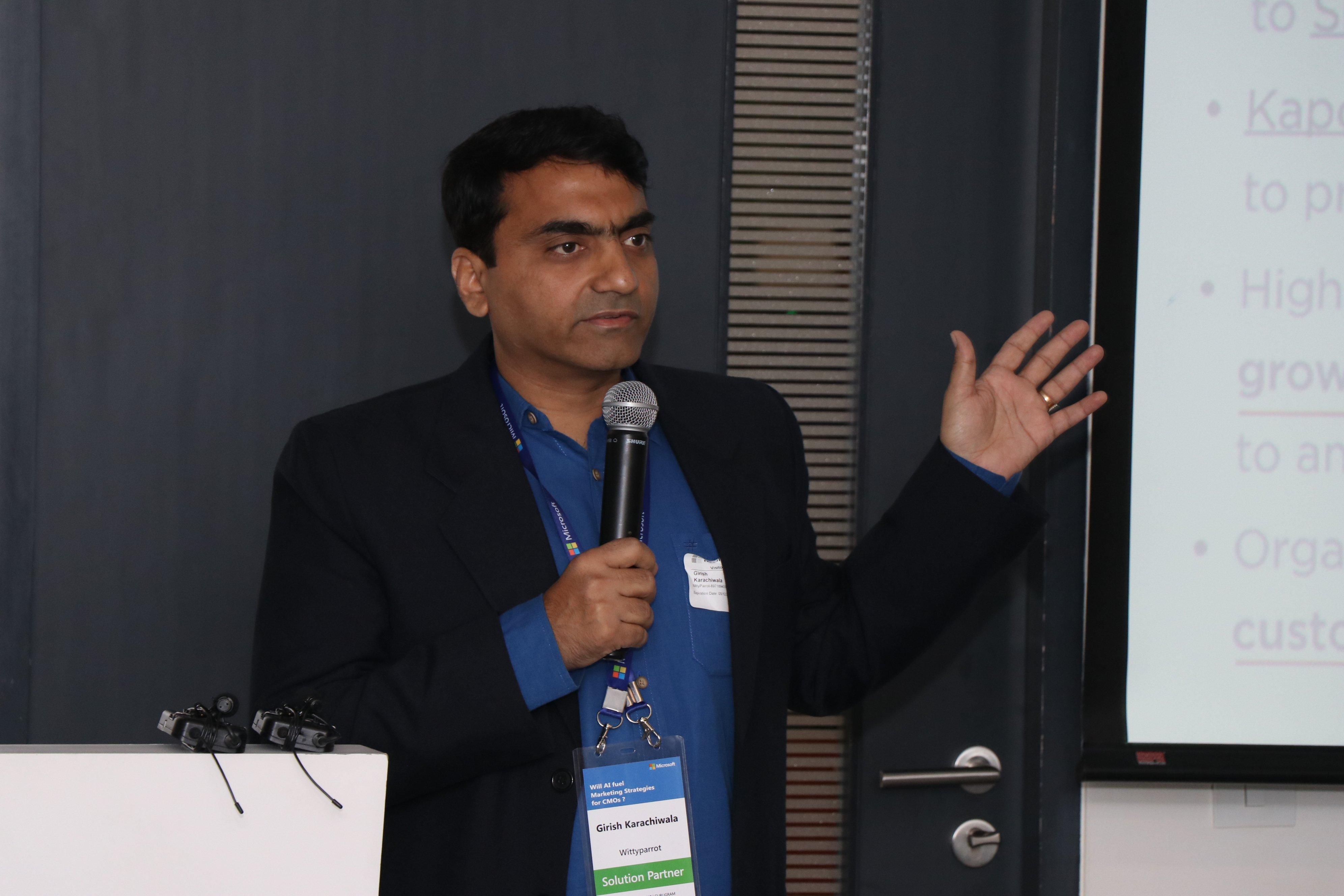 Microsoft Workshop: Girish Karachiwala, CTO, WittyParrot