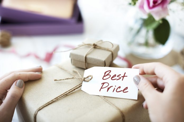 Festive Season Marketing: Best Price Offer Promotion Commerce Marketing Concept
