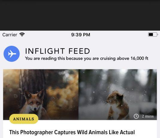 ScoopWhoop's Inflight feed