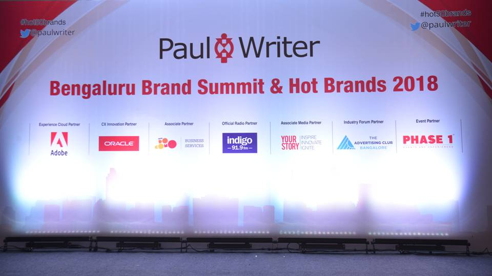 Paul Writer Recognizes the Best in Bengaluru Brands at the