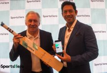 Legendary Cricketer with Tom Lapping launch the SportsHero App in India