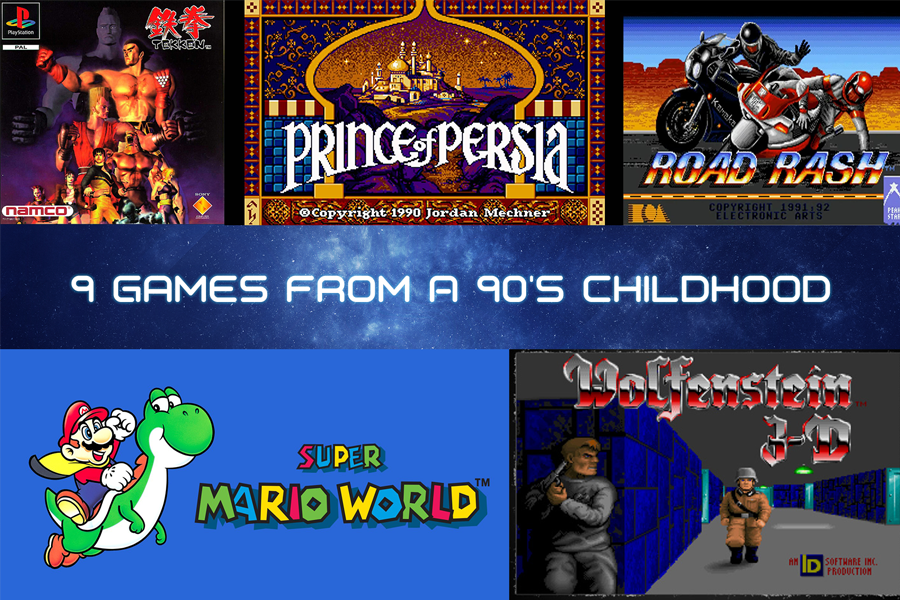 9 Games from a 90's Childhood | Paul Writer