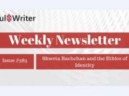 Weekly Newsletter: Shweta Bachchan and the Ethics of Identity