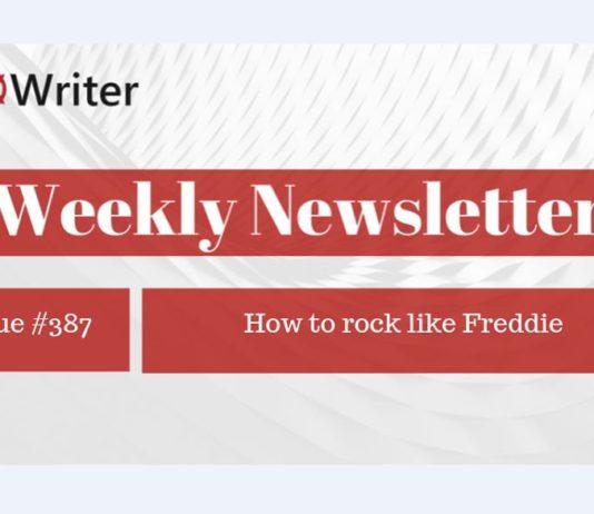 Weekly Newsletter: How to rock like Freddie