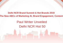 Paul Writer Unveiled Delhi NCR Hot Brands 2019!