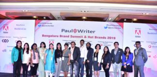 Paul Writer Unveiled Namma Bengaluru Hot Brands 2019!