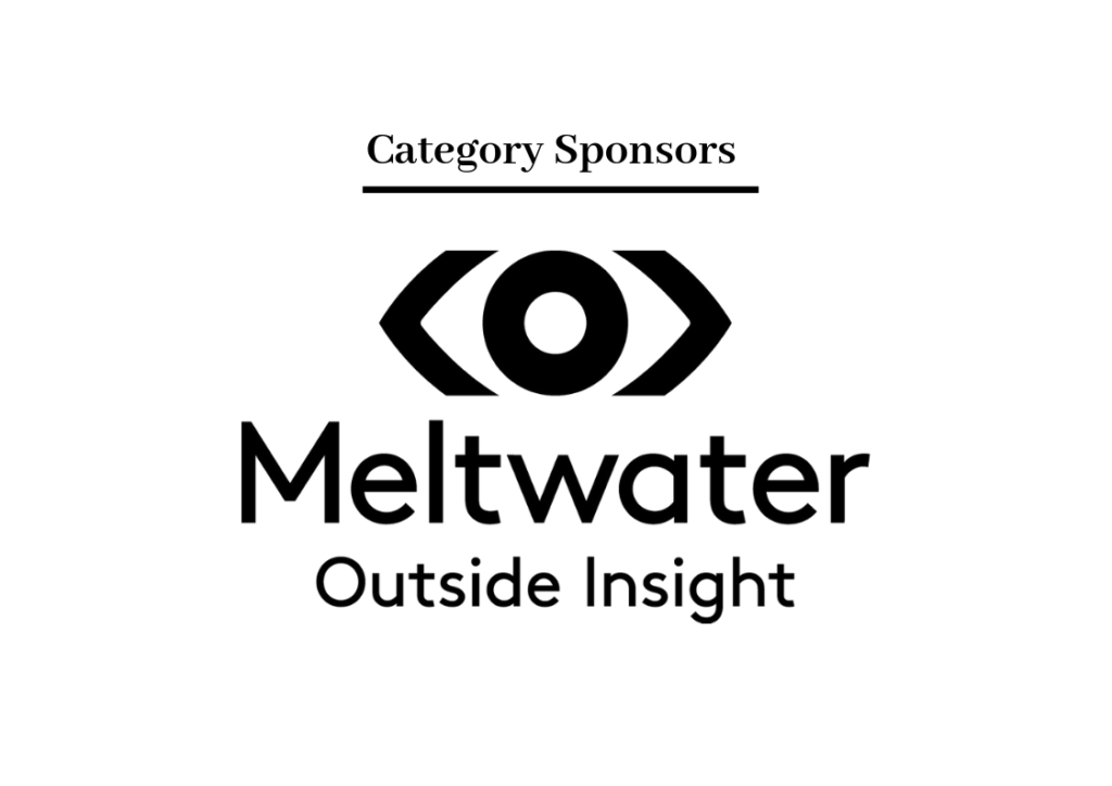 Meltwater Category Sponsor