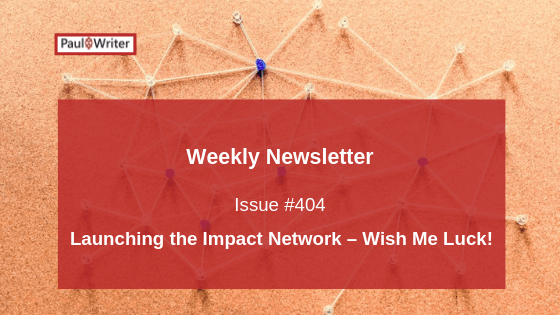 Launching the Impact Network – Wish Me Luck!