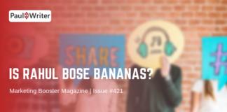 Is Rahul Bose Bananas?