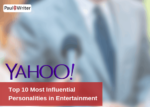 top 10 most influential personalities from the entertainment industry