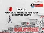 Advanced Methods for Your Personal Brand